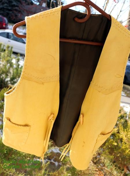 child's vest, front