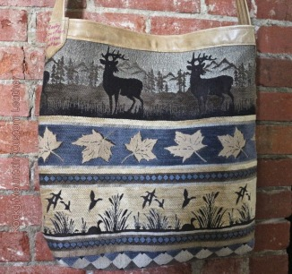 tapestry n leather tote by Rocky Mountain Custom Leather  (back).jpg