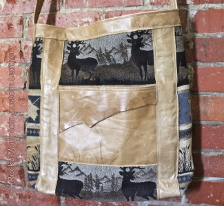tapestry n leather tote by Rocky Mountain Custom Leather (front).jpg